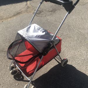 Used Doggie Stroller Fits Two for Sale in Burbank, CA
