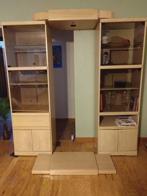 Entertainment center - Adjustable - wall unit for Sale in Plant City, FL