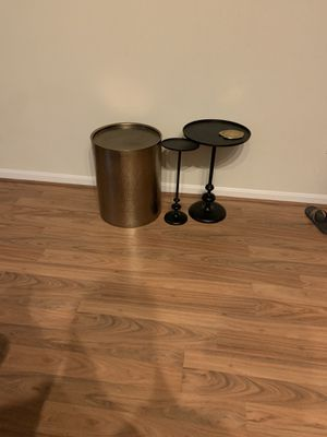 Set of three tables/stands from target for Sale in Rockville, MD