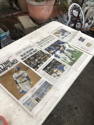 Dodgers World Series for Sale in Inglewood, CA