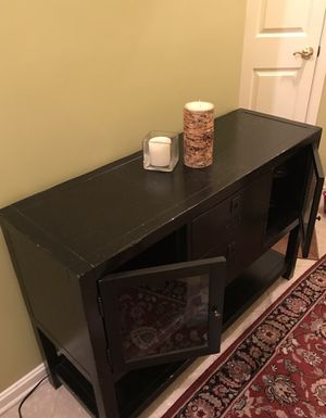 Pottery Barn Black Console for Sale in Herndon, VA