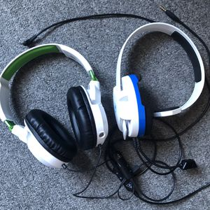 Turtle Beach Earforce Recon 50X and Recon Chat stereo gaming headsets for Sale in San Clemente, CA