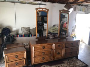 Dresser with night stands for Sale in Mission Viejo, CA