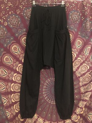 Women's Black Harem Joggers Small for Sale in Portland, OR