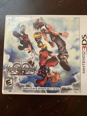Kingdom Hearts Dream Drop Distance - Nintendo 3DS for Sale in DW GDNS, TX