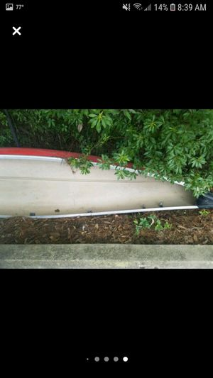 14 ft canoe with trolling motor for Sale in Biloxi, MS