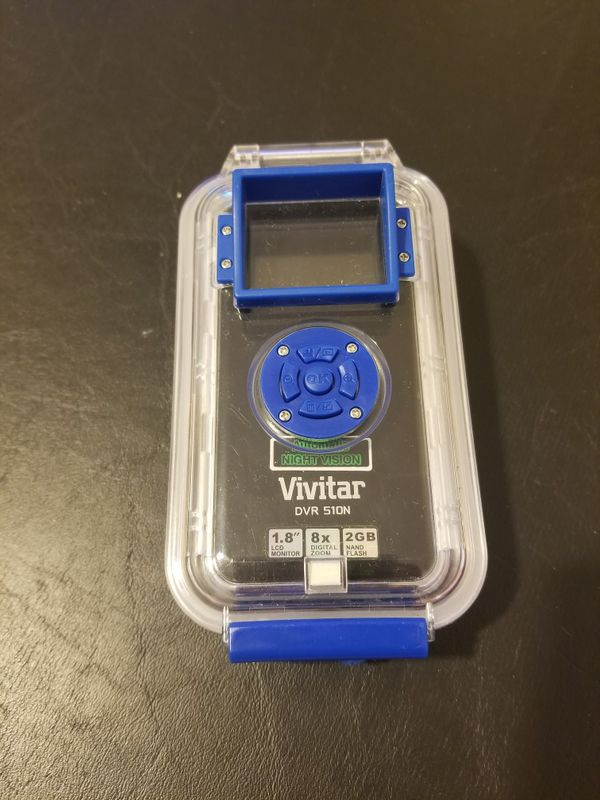 Digital video recorder & camera with waterproof case