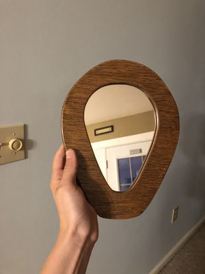 Small wooden wall mirror for Sale in Lititz, PA