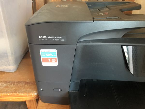 HP Office Jet 8710printer