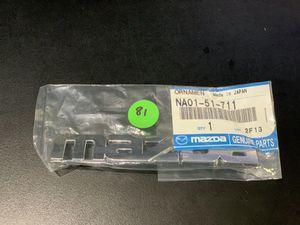 New OEM 'Mazda' Emblem for Sale in San Dimas, CA