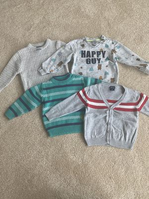 Sweaters and sweatshirt, used and new, size 18M / EUR 86 for Sale in Seattle, WA