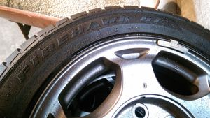 225/50R16 Firestone all weather performance tires and rims for Sale in Montesano, WA