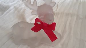 Frosted Reindeer Candle holder for Sale in Livermore, CA