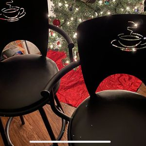 Set (2) Coffee Swivel Stools!!! - Color Blk for Sale in Oswego, IL