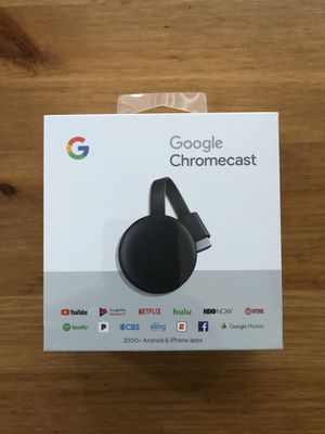Google Chromecast 3rd Generation **NEVER OPENED** for Sale in Los Angeles, CA