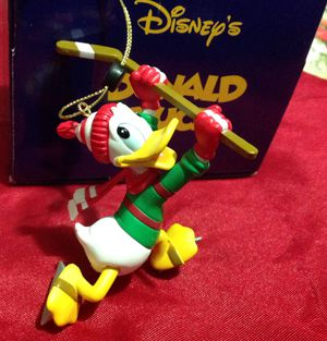 Disney president's Edition Donald Duck Hockey Puck Mickey Mouse Grolier Ornaments for Sale in La Vergne, TN