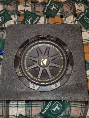 1000w Pioneer amp/ kicker comp 8inch sealed box for Sale in Marion, IN