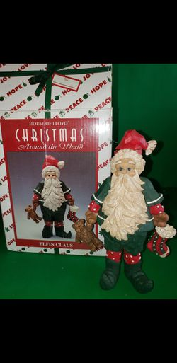 """House Of Lloyd """"Elf Claus"""" Candle Holder for Sale in San Fernando,  CA"""