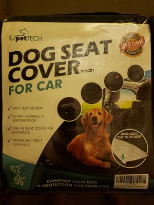 *New*Dog Car Seat Cover Waterproof for Sale in Seattle, WA