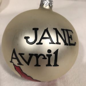 Jane Avril Christmas Ornament for Sale in Freeport, NY