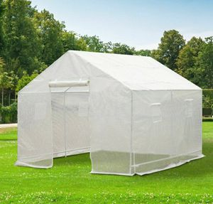 Outdoor 10'x10' Green House Portable Walk-In Plant Gardening PE Cover for Sale in Los Angeles, CA