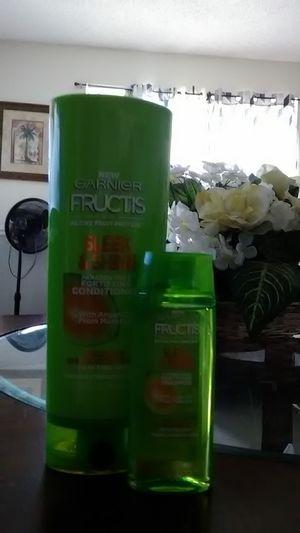 Garnier Fructis Sleek&Shine Shampoo & Conditioner for Sale in Frostproof, FL