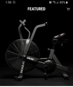 ROGUE ECHO BIKE W/WINDGUARD&PHONE HOLDER FOR GYM WEIGHTS for Sale in La Habra Heights, CA