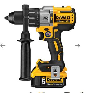 20-VOLT 1/2-INCH 3-SPEED 5.0AH LITHIUM-ION HAMMER-DRILL KIT for Sale in Tacoma, WA