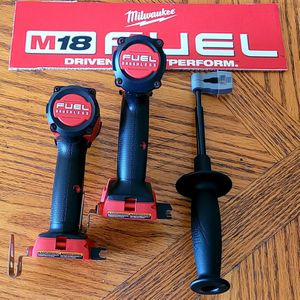 MILWAUKEE M18 18-VOLT FUEL BRUSHLESS HAMMER DRILL AND IMPACT DRIVER NO BATTERIES for Sale in Fort Lauderdale, FL