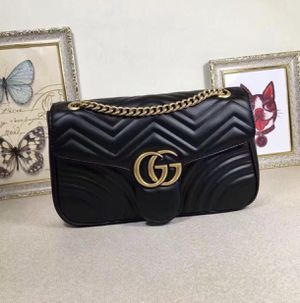 Gucci marmont bag in black for Sale in Kernersville, NC