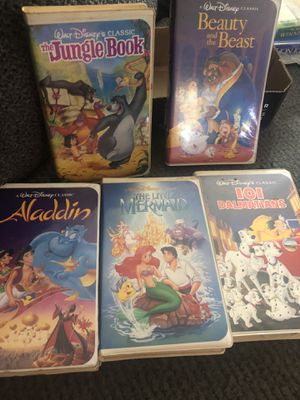 RARE original Disney VHS collection for Sale in Glenwood, OR