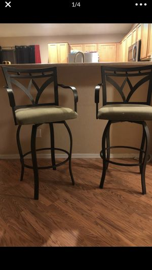 2 swivel barstools from Costco for Sale in Avondale, AZ
