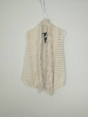 Calvin Klein Faux Fur & Knit Vest for Sale in Ruskin, FL