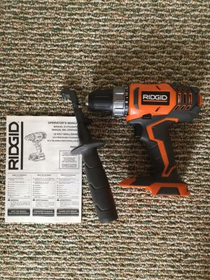 """Ridgid. 18V X4 Lithium Ion 2-Speed 1/2"""" Compact Drill Driver(Tool Only). R860052. for Sale in Queens, NY"""