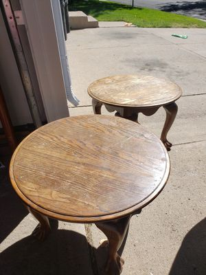 Solid wood side tables for Sale in Aurora, CO