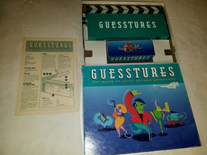 Guesstures vintage game for Sale in East Wenatchee, WA