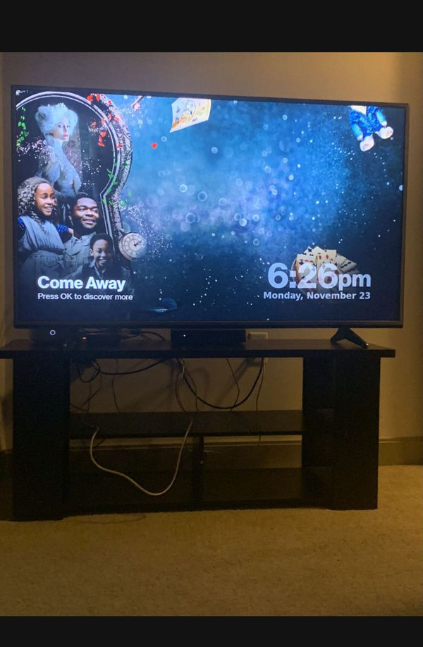 "55"" Lg Smart Tv With Tv Stand"