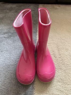 Size 13-1 girl rain boots for Sale in Petersburg, VA