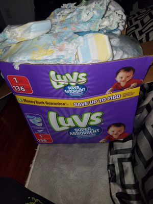Newborn - Size 2 Diapers for Sale in Vancouver, WA