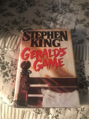 Gerald's Game Hardcover Book by Stephen King for Sale in Davenport, FL