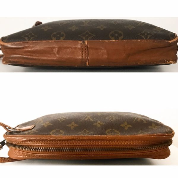 Authentic Louis Vuitton Monogram Sport Sac Wristlet Clutch Bag