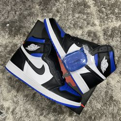 Jordan 1 Retro High Royal Toe Brand New, Size 9 Men for Sale in Washington,  DC