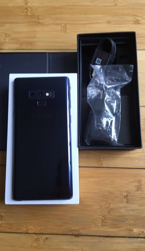 New Condition Samsung Galaxy Note 9 Factory Unlocked for Sale in North Miami Beach, FL