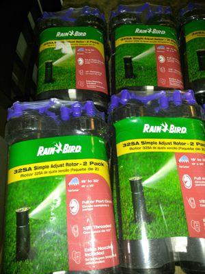 Rainbird Sprinklers 32SA Simple Adjust Rotor - 2 pack for Sale in Las Vegas, NV