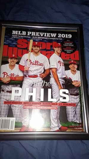 PHILADELPHIA PHILLIES SPORTS ILLUSTRATED FRONT COVER MLB 2019 for Sale in Langhorne, PA