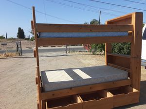 Twin size bunk bed with one Mattres for Sale in Orosi, CA