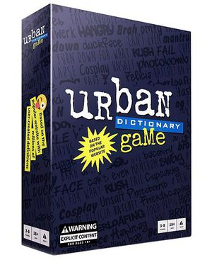 Urban Dictionary | Party Board Game | EXCELLENT COMPLETE preowned for Sale in San Francisco, CA