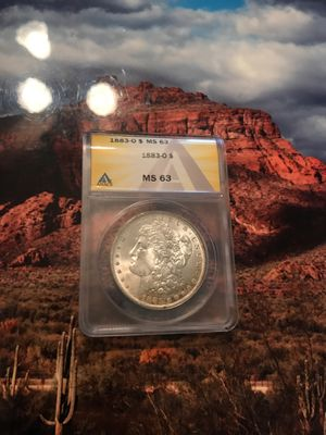 1883 New Orleans Morgan Dollar MS 63 for Sale in Litchfield Park, AZ