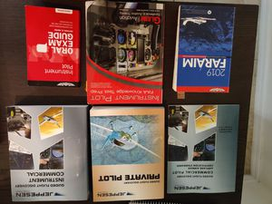 Jeppesen Instrument Private Commerical books for Sale in Tampa, FL