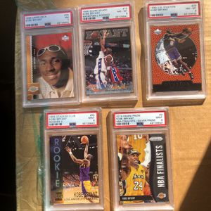 PSA Graded Kobe Cards!!! for Sale in Los Angeles, CA